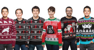 Holiday Sweaters Get Nerdy