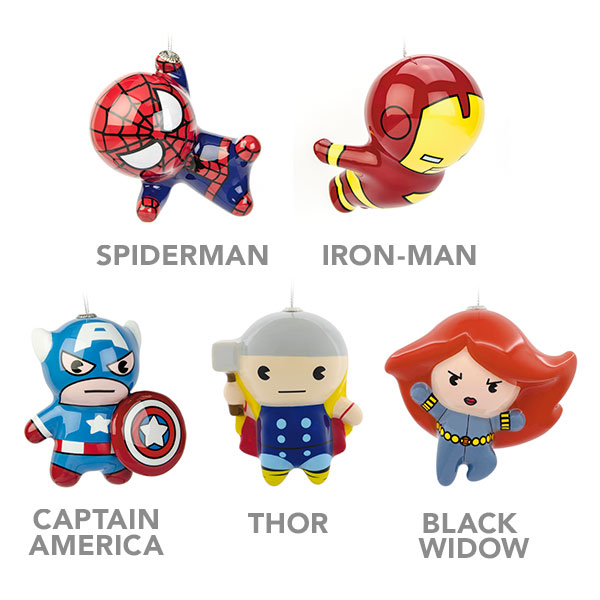 Marvel - Hallmark Ornaments