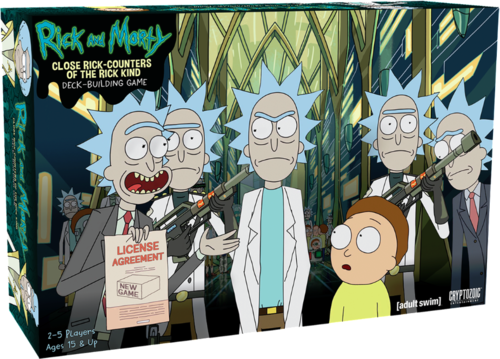 Rick and Morty - Card Building