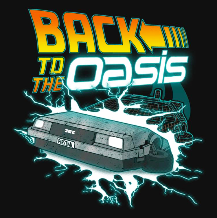Back to the Oasis - Shirt - Truly Madly Geekly