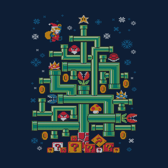 It's-a Tree Mario - Shirt by djkopet