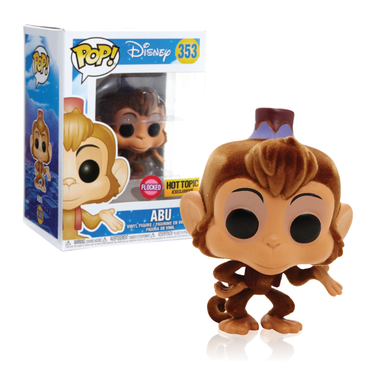 Abu - Aladdin - Flocked - Pop - Hot Topic Exclusive