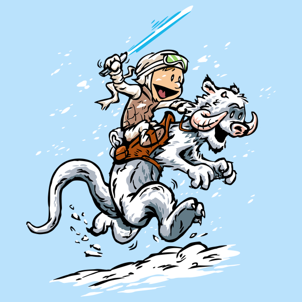 Calvin and Hoth Shirt