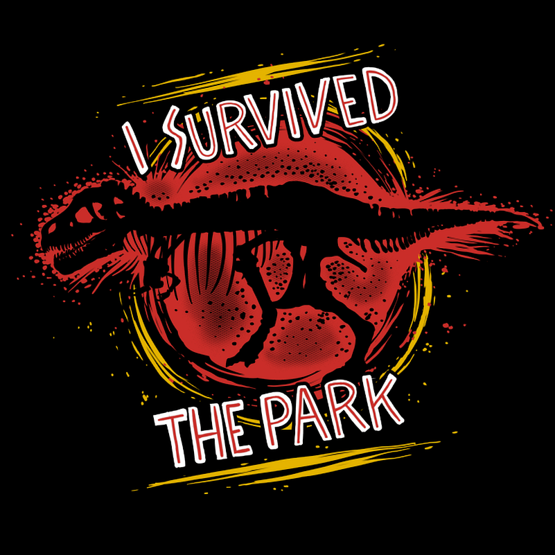 I Survived The Park - Shirt