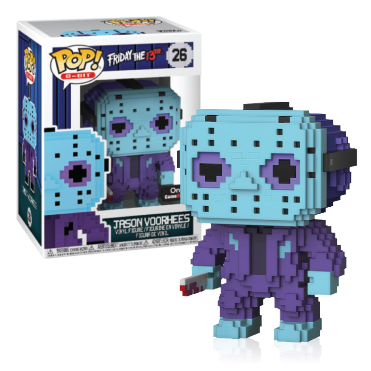 Jason Voorhees - 8Bit - Funko Pop! - Gamestop Exclusive