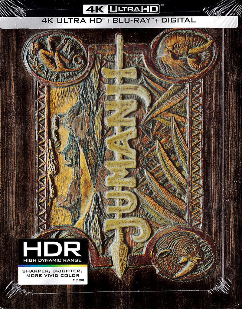 Jumanji - Steelbook - packaging - Amazon