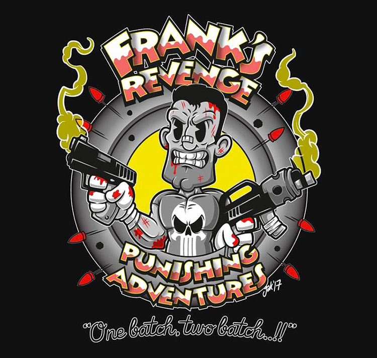 Punishing Adventures - T-Shirt  artist: Jak_Gibberish