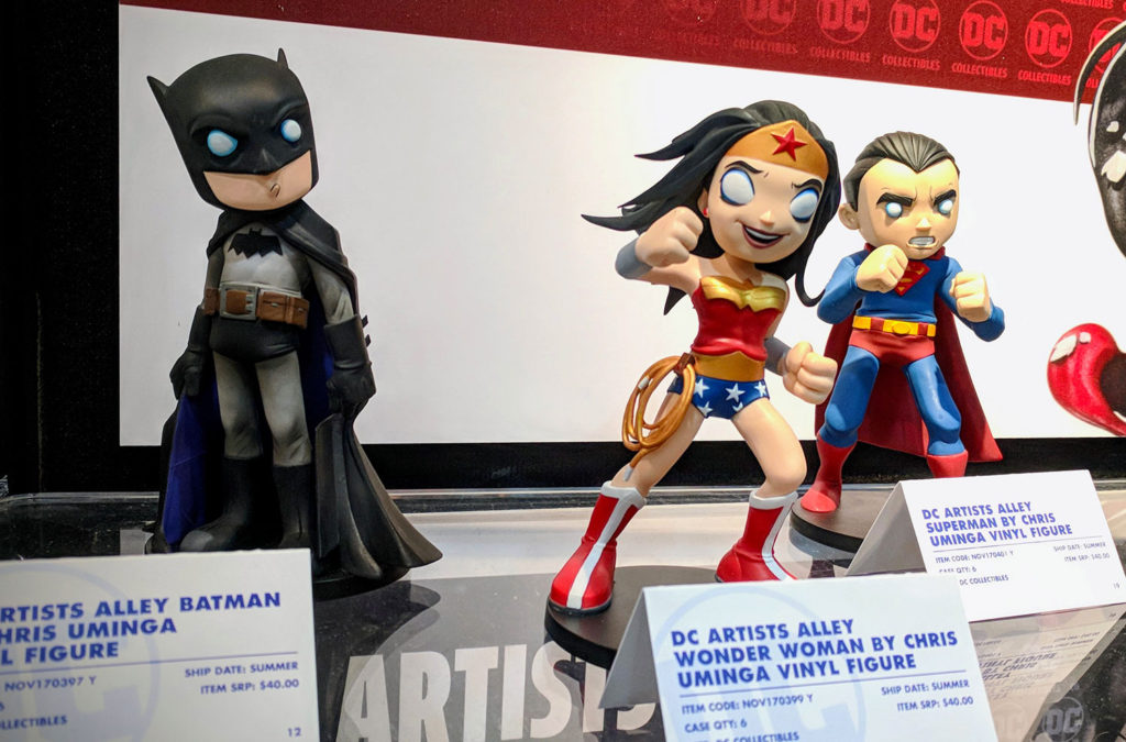 Chris Uminga - DC Artists' Alley - Figures - Color