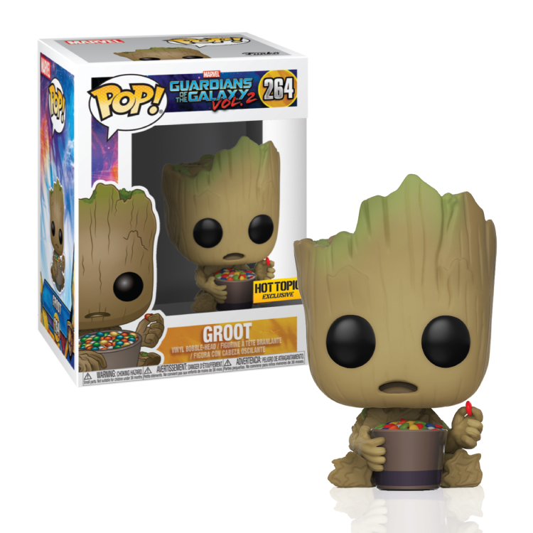 Groot - Candy - Hot Topic - Funko Pop - Exclusive