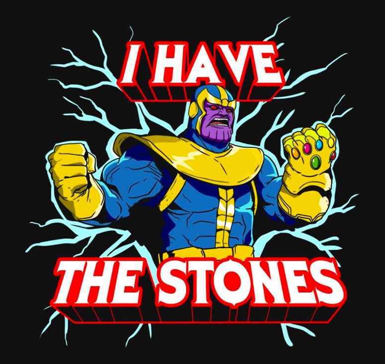 I Have the Stones - Shirt - artist: SullyInk