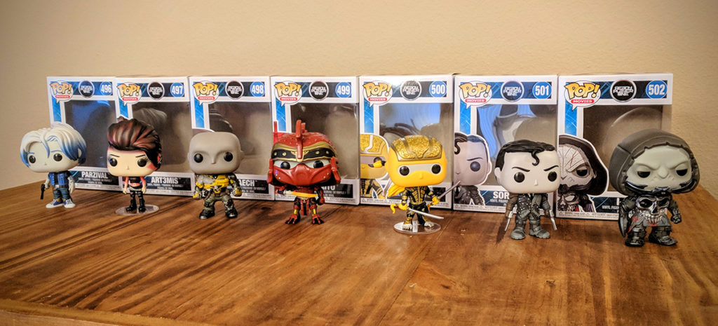 Ready Player One - Funko Pop! - Lineup