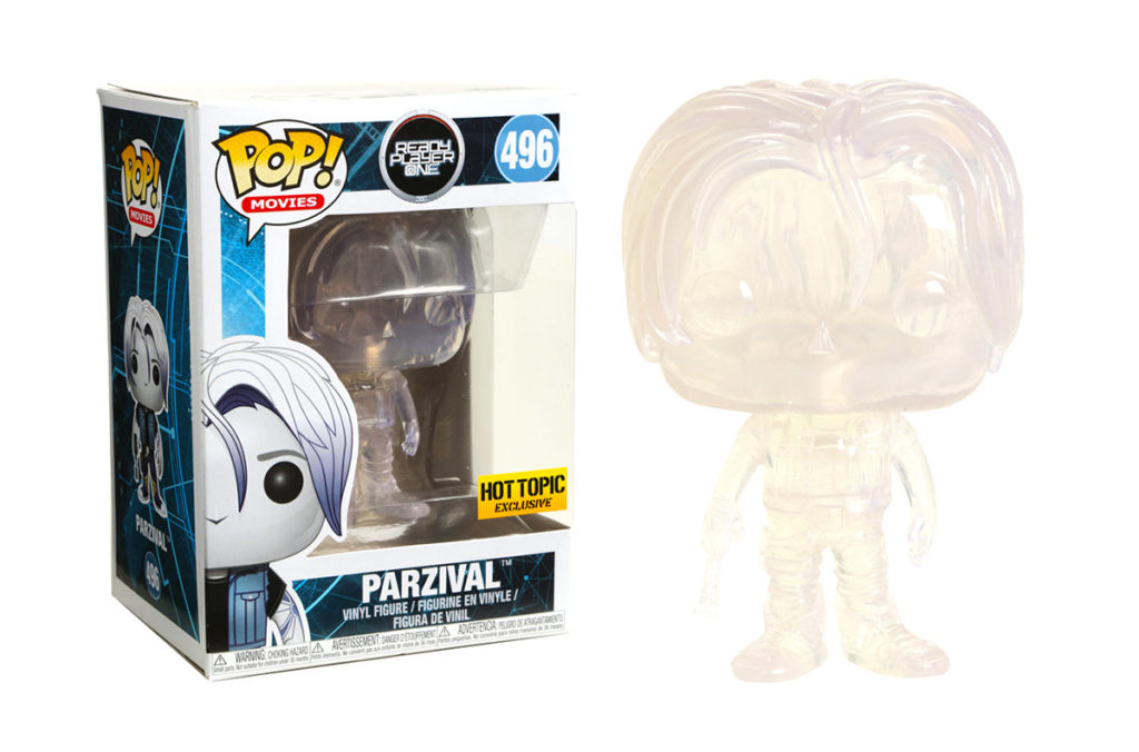 Ready Player One - Parzival - Clear - Funko Pop!