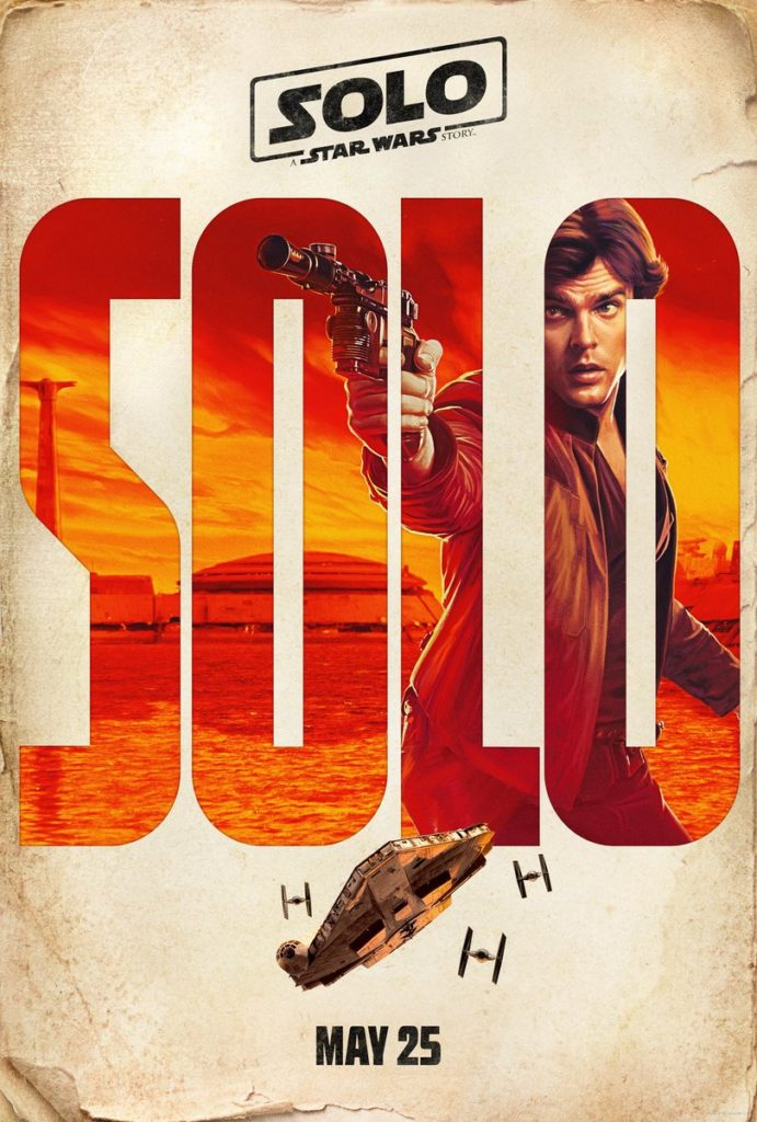 Solo - Star Wars - Poster - SOLO