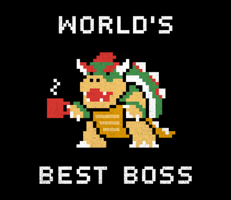 World's Best Boss - Shirt - artist: csweiler