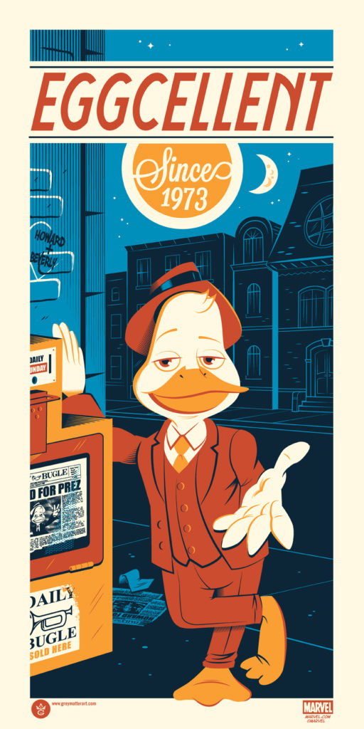 Howard the Duck - Dave Perillo - Grey Matter Art