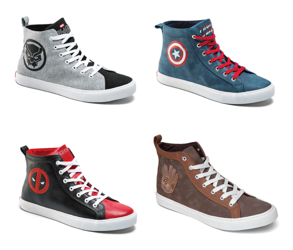 Marvel - High Top Sneakers