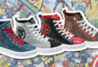 Marvel High Top Sneakers - Cover