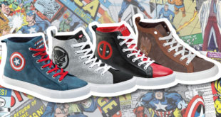 Exclusive Marvel High Top Sneakers