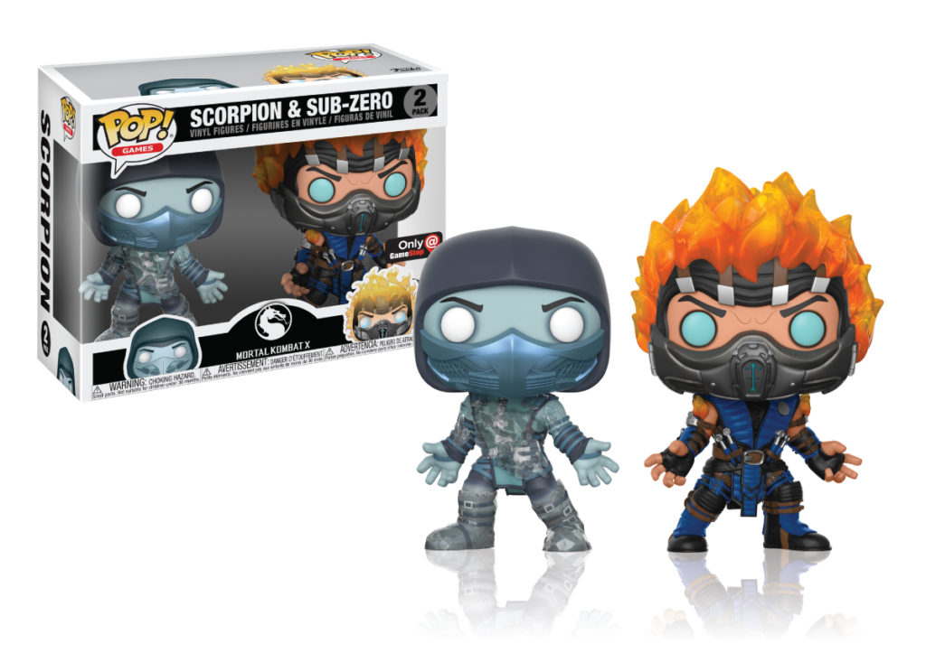 Mortal Kombat - Funko Pop! - Two Pack - GameStop Exclusive
