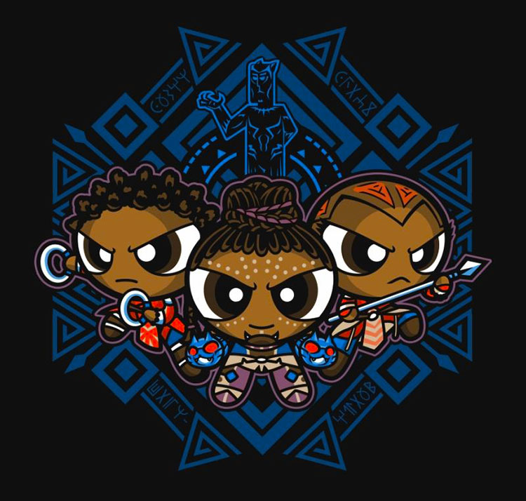 Pantherpuff Girls - Shirt - artist: PrimePremne
