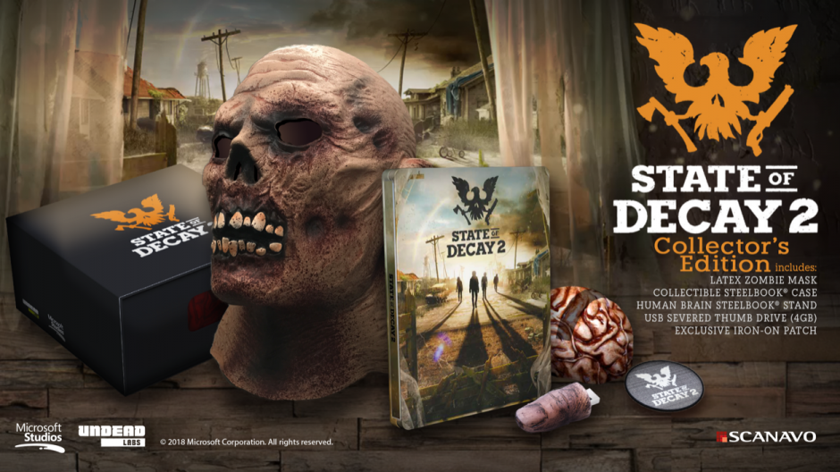 State of Decay 2 Collector's Edition - Game Not Included
