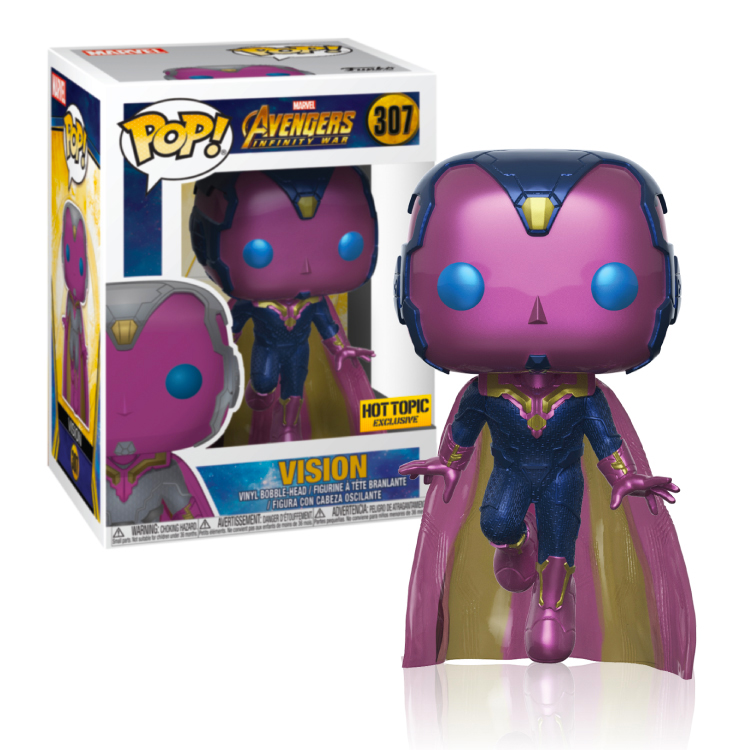 Vision - Avengers Infinity War - Hot Topic - Exclusive - Pop!
