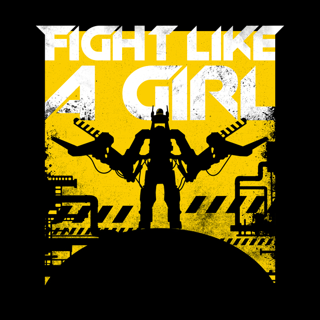 Fight Like a Girl - TShirt - artist: Rocketman