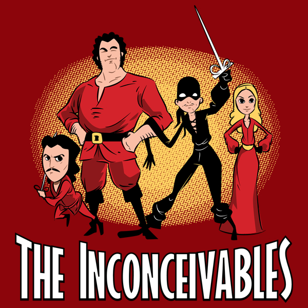 The Inconceivables - TShirt - artist: ZombieDollars