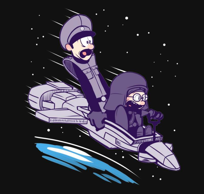 Ludicrous Speed - TShirt - artist: Kinda Creative