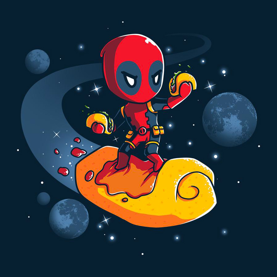 Space Tacos - Deadpool - Tee Turtle