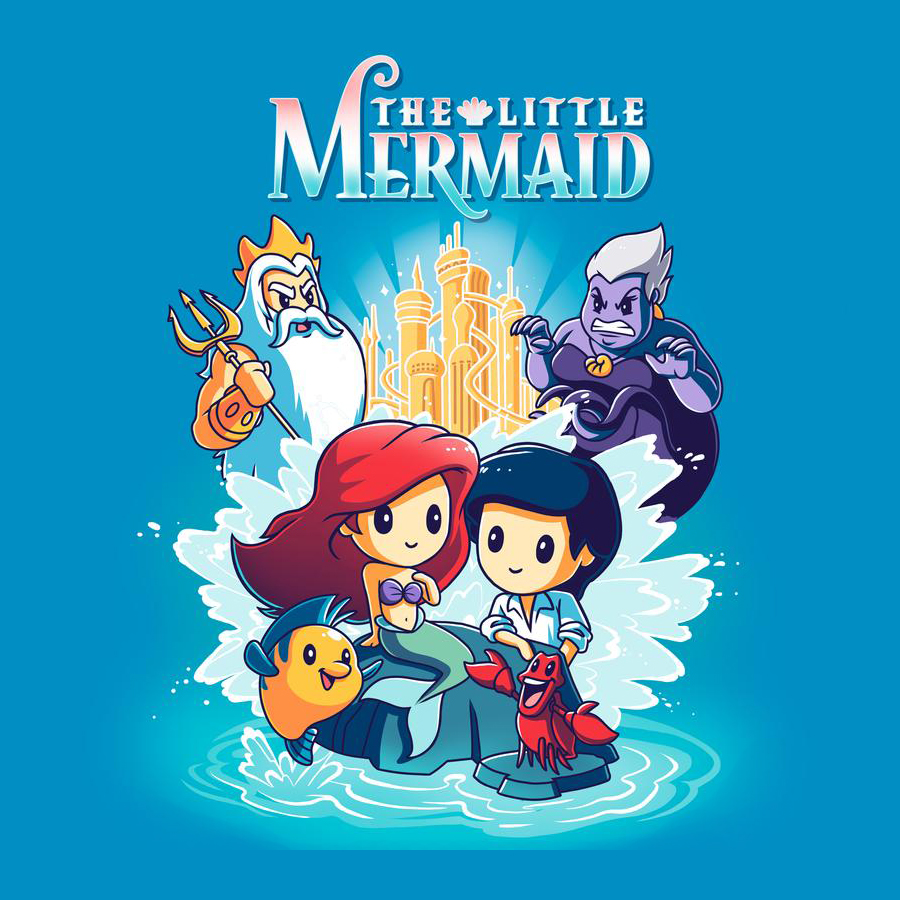 The Little Mermaid - TShirt - TeeTurtle