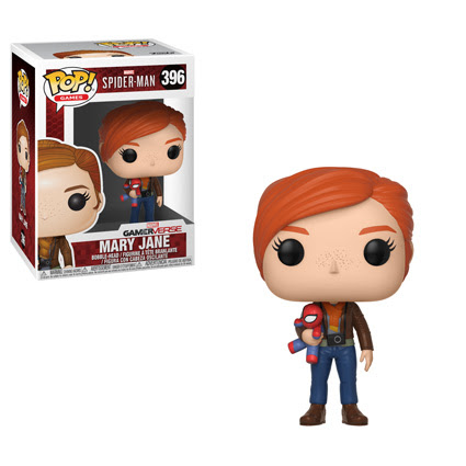 Funko - Pop - SpiderMan PS4 - Mary Jane