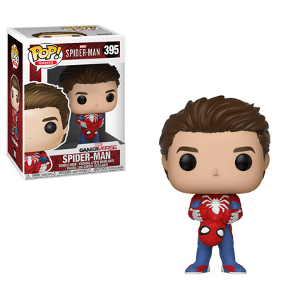 Funko - Pop - SpiderMan PS4 - Unmasked Peter Parker