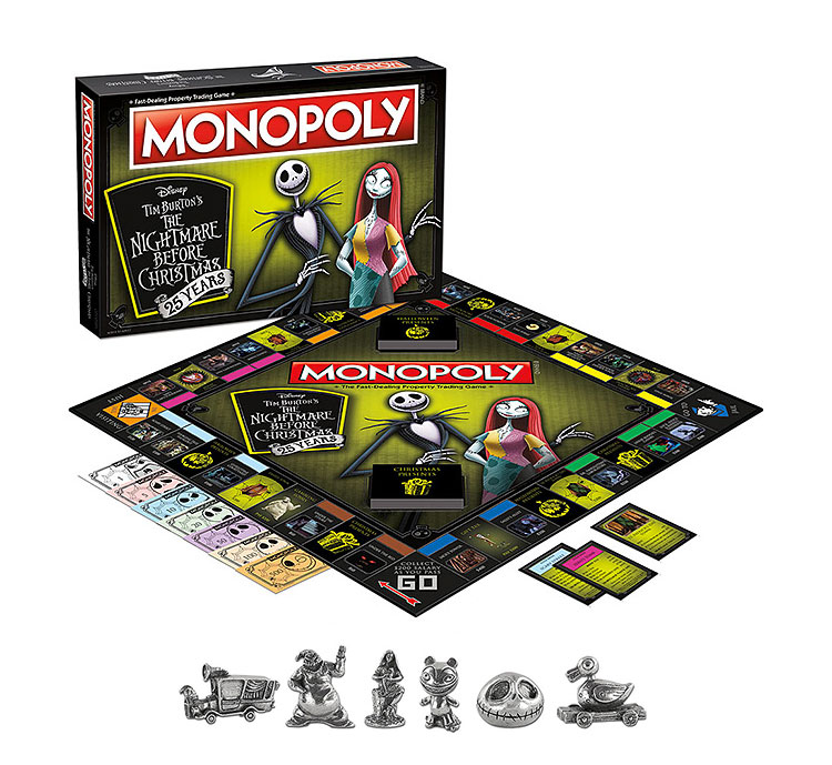 Nightmare Before Christmas - 25th Anniversary - Monopoly