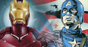 'Iron Man' + 'Captain America: The First Avenger' – Grey Matter Art